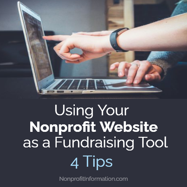 Nonprofit Website as a Fundraising Tool